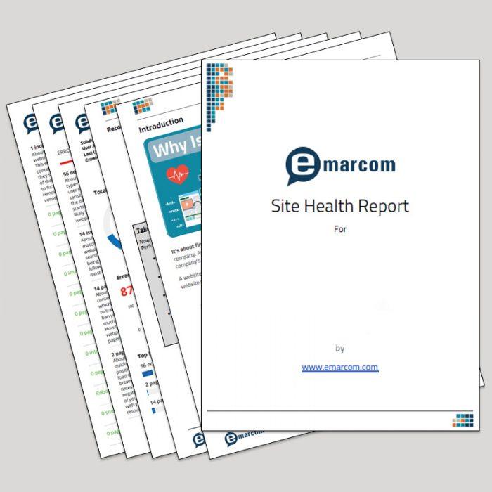 Emarcom-Site-Health-Report