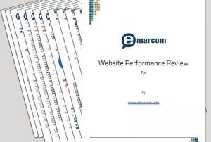 Emarcom Website Performance Review